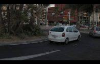 Los taxistas ya pueden pasar por el acceso central al puerto de Algeciras