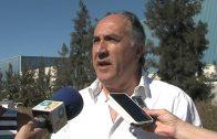 Un reventón en la conducción de agua a Algeciras amenaza el abastecimiento a la ciudad.