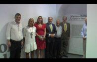 El alcalde inaugura la exposición de plumillas de Mariano Bertuchi