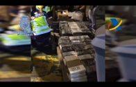 Incautan 900 kilos de cocaína que llegaron al puerto de Algeciras.