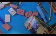 Landaluce acompaña a Nuevas Generaciones en su recogida de material escolar en beneficio de ADRA