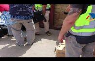 Intervenidas 3 toneladas de hachís en la costa andaluza y 24 personas detenidas en varios países