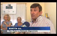 La Peña Cultural la Bufanda Algecirista hace entrega de material escolar a la FLAPA
