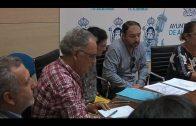 Reunión de coordinación para el proyecto de rehabilitación del Barrio de la Caridad
