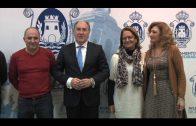 El alcalde recibe al nuevo presidente de la Sociedad del Cante Grande