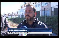 El Ayuntamiento prosigue con las obras del corredor verde en San García