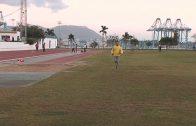 Los atletas del Bahía de Algeciras saltan al tartán y Mustapha Sabili a la Espada Toledana