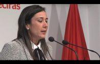 Rocío Arrabal, arropada por militantes y simpatizantes en un acto de cara a la Asamblea de mañana