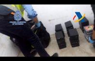 Siete personas detenidas e incautados 100 kilos de cocaína