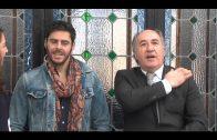 Landaluce recibe al actor José María Galiano