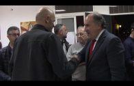 """El alcalde comparte con los integrantes de """"Farolillo"""" su tradicional convivencia navideña"""