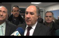 El alcalde visita la tienda oficial del Algeciras CF