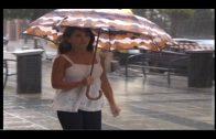 La Aemet mantiene la alerta amarilla por lluvias en el Estrecho por lluvias