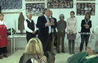 Landaluce acompaña a los mayores de La Unión en su convivencia de Navidad