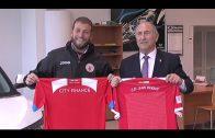 Los presidentes de Algeciras CF y CD San Roque promocionan el derbi