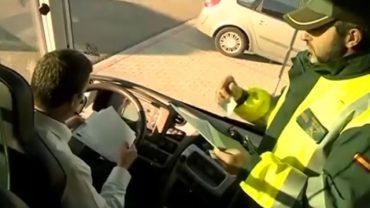 Campaña especial de vigilancia de la DGT sobre autobuses destinados al transporte escolar