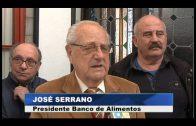 El alcalde recibe a la nueva directiva del Banco de Alimentos, que dirige José Serrano