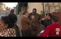 El alcalde visita la barriada Padre Flores donde se asfaltan algunas calles