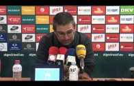 Guti, contento con los tres puntos y el trabajo del equipo incluso con 10