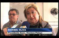 Vecinos de Pelayo entregan al comedor de Cáritas los alimentos recogidos en su belén viviente
