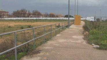 C`s denuncia el estado de abandono de las pistas deportivas de la Yesera