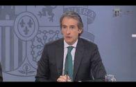 De la Serna espera responsabilidad en los Grupos Parlamentarios para aprobar la reforma de la estiba