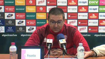 """Guti: """"Si me echan el domingo porque perdemos me iré orgulloso de los futbolistas que tengo"""""""
