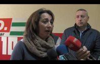 Los responsables comarcales de CCOO y UGT se reúnen con trabajadores de la estiba en Algeciras