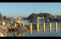 """Subdelegación señala que el """"sabotaje"""" a la barrera del Guadarranque se arreglará """"con celeridad"""""""