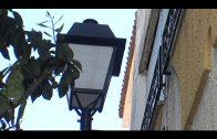 Alumbrado repone las farolas de la calle Cristo de Medinaceli