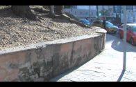 ASSP denuncia el avanzado deterioro del muro situado junto a la antigua biblioteca Cristóbal Delgado