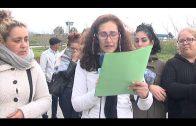Celebran una concentración de apoyo a los presos de Botafuegos en Algeciras