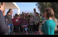 Ruiz acompaña a los escolares en su visita al Parque del Centenario