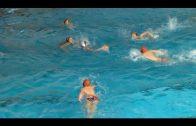 Judith Bassarmal, con la selección andaluza en el Campeonato de España de Waterpolo
