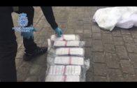 La Policía intercepta un camión  con 383 kilos de hachís ocultos en  en los depósitos de combustible