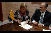 Landaluce renueva el convenio de colaboración con el Consejo Local de Hermandades y Cofradías