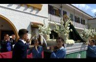 """Ruiz y Cid asisten a la procesión infantil del colegio """"Nuestra Señora de los Milagros"""""""