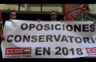 CCOO denuncia que Educación miente sobre la huelga del profesorado interino de conservatorios