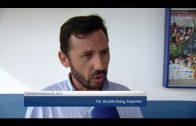 Rodríguez Ros entrega el material a los equipos algecireños, para los Juegos del Estrecho