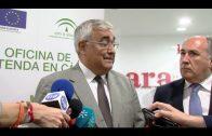 El consejero de Economía destaca el éxito de la oficina Extenda en Algeciras
