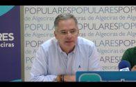 El PP critica que Díaz venga de paso a Algeciras y sin proyectos ni propuestas