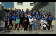 Entrega de becas a la excelencia académica a los alumnos de Bachillerato con matrícula de honor