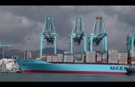 La actividad en AMP Terminals en el puerto de Algeciras,  parada tras el ciberataque