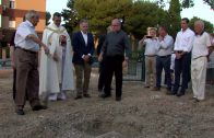 La parroquia de San Antonio de Padua coloca la primera piedra de su casa de Cáritas