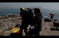 Limpieza de fondos marinos en La Ballenera