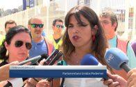 Los estibadores continúan con la huelga a la espera de la reunión la próxima semana en Madrid.