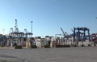 Segunda jornada de huelga de la estiba en el Puerto