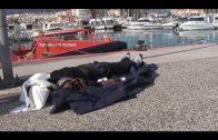 Continúa activa la búsqueda del medio centenar de inmigrantes naufragados en el Estrecho