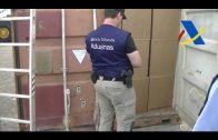 La Agencia Tributaria culmina en Cádiz su mayor aprehensión histórica de tabaco de contrabando