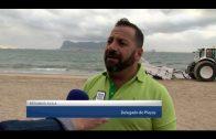 Landaluce anuncia que a partir de hoy se repondrá la arena en la zona del Botavara